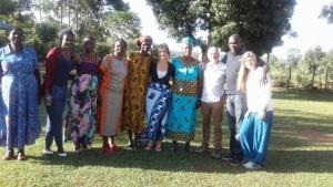 Kennenlernen von Nashons Familie in Uhola, Kenia, 2016