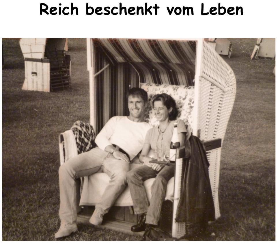 Einladung zur Silberhochzeit von Regina Gramm und Hans-Jörg Lanzer