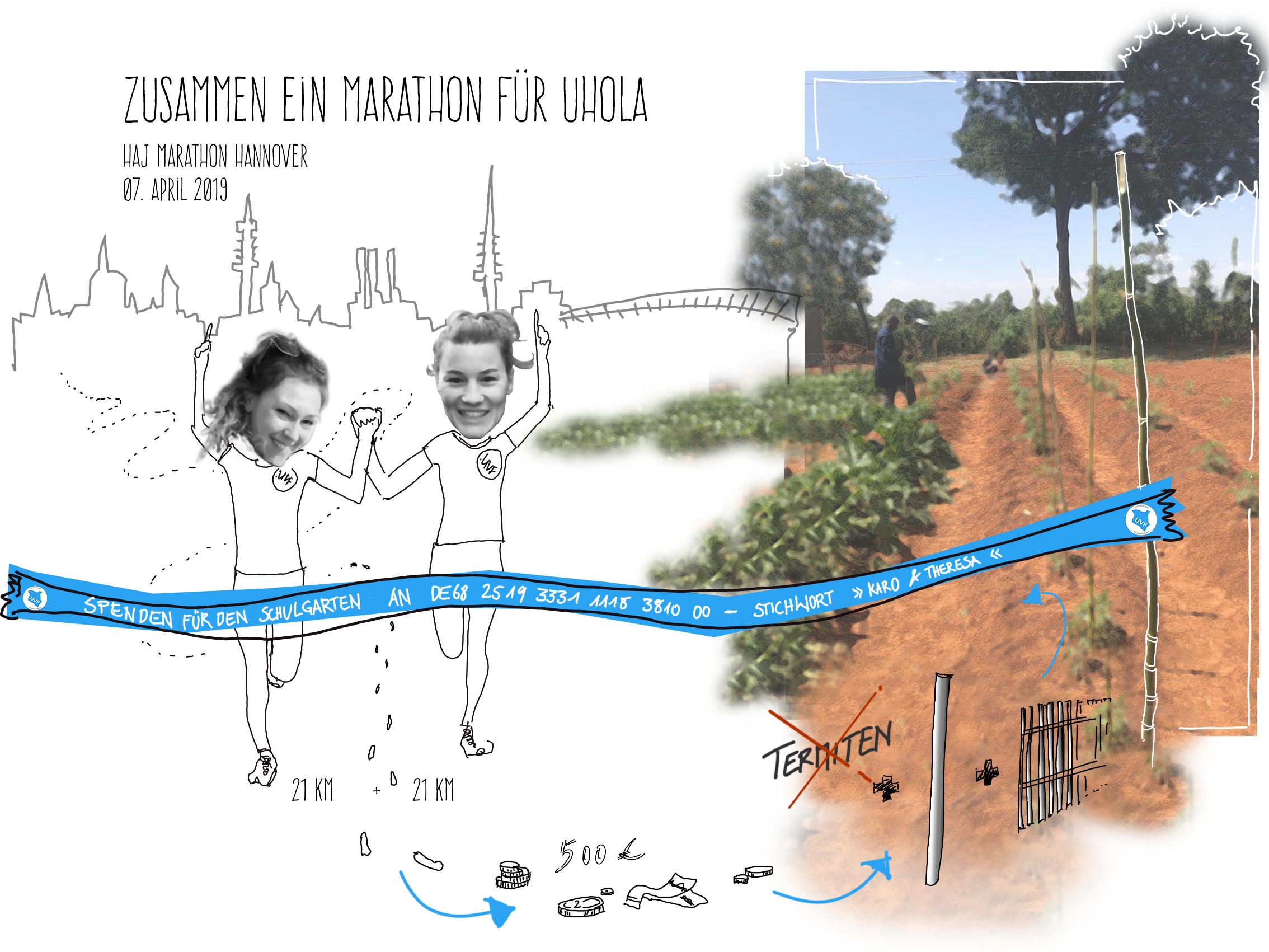 Ein Marathon für Uhola+IBAN