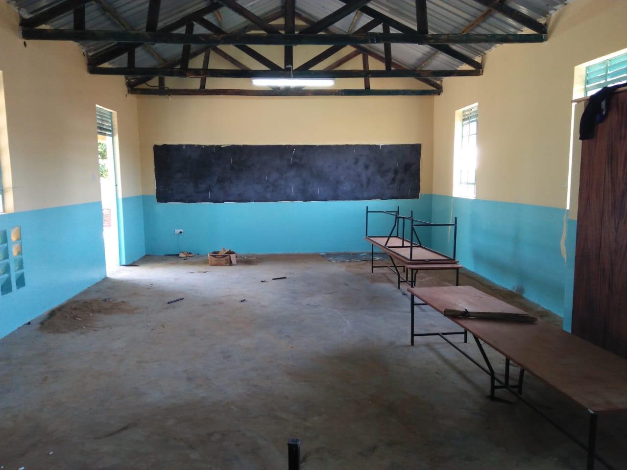 Neue Klassenräume für die UPS (2)